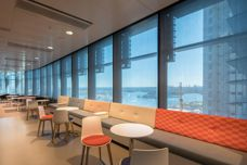 Screen Nature Ultimetal fabric used at Barangaroo
