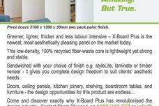 X-Board Plus 50mm panels