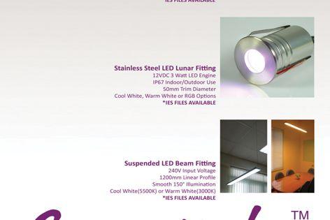 Superlight LED lighting