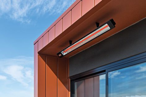 Infratech's electric heaters can suit outdoor living spaces in all sizes, styles and layouts.