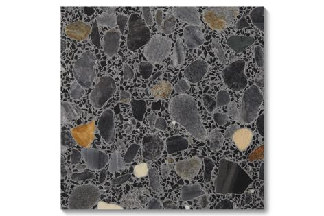 Fibonacci's Fossil terrazzo tiles are suitable for both residential and commercial applications.