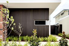 Shadowline timber-look cladding