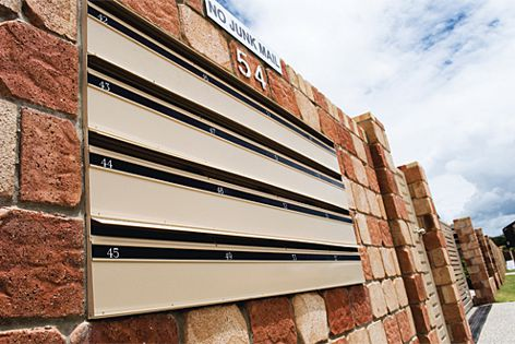 Mailboxes by Mailsafe are ideal for multiresidential and commercial projects.