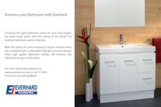 Everhard Industries bathroom vanity