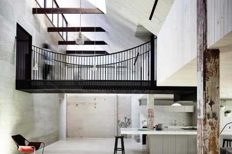 Fitzroy Loft by Architects EAT, shortlisted in the House Alteration and Addition over 200 m2 and House in a Heritage Context categories. Photography: Derek Swalwell.