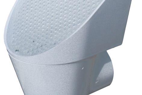 The Superhead first flush filter.