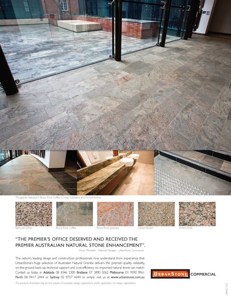 Natural granite from UrbanStone Commercial