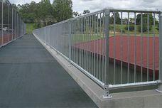 Moddex no-weld handrail
