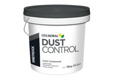 Sheetrock Dust Control by USG Boral