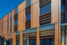 Natural timber cladding by Weathertex