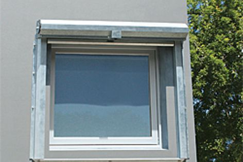 Trend's Xtreme windows and doors with Pyro-Protec seals and toughened glass.