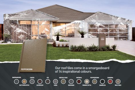Roof tiles by Monier Horizon