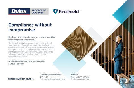 Protective timber coatings by Dulux