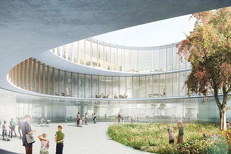 Hauner Children's Hospital in Munich was designed by Nickl and Partner Architekten. Christine Nickl-Weller, partner at that firm, is presenting at Health Care / Health Design.
