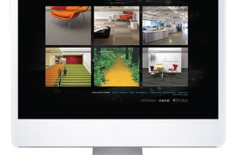 As part of GEO Flooring's new makeover, the company has created a new website and logo.