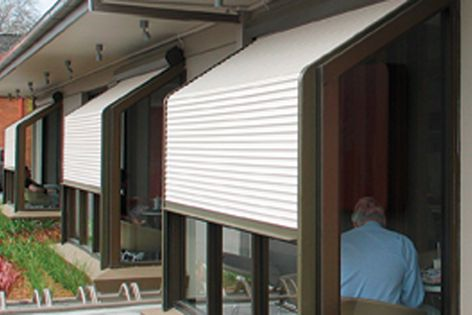 In the case of hail storms or other extreme weather, Blockout roller shutters act as a barrier.