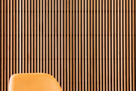 Made from timber making it a warm addition to internal and external walls and surfaces.