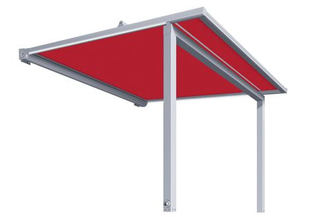 The Warema P60 pergola awning is ideal for a changeable climate.