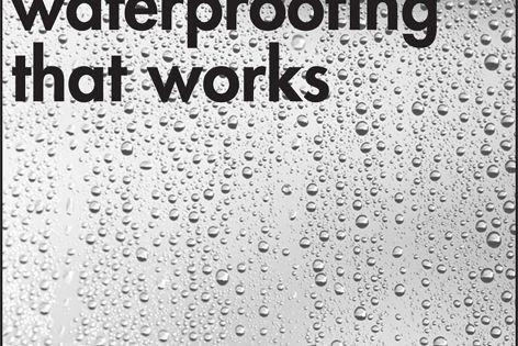 Wolfin waterproofing
