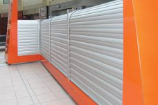 Blockout roller shutters – custom made