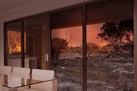 Trend's Xtreme bushfire protection system prevents embers and wind-drawn debris from entering buildings.