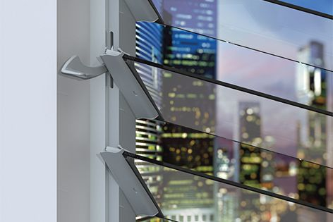 The Stronghold system, shown here, is one of many new products from Breezway.
