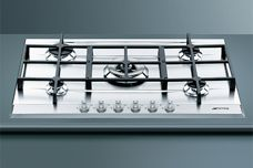 Gas cooktops from Smeg