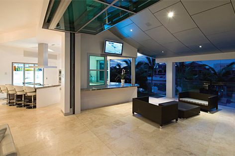 Open-plan living extends even further with the new Glide-Away folding door by Smartech Door Systems.