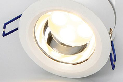 Superlight Eco-12 LED downlight is suitable for commercial and domestic projects.
