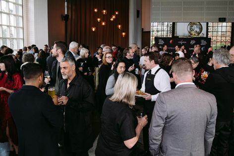 The winners of the 2019 Eat Drink Design Awards were announced at a cocktail event at the Metropolis in Melbourne. Photograph: Jessica Prince.