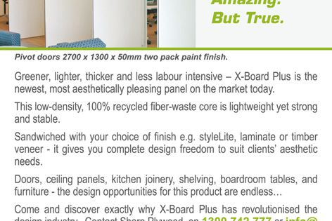 50 mm panel you can lift with one hand