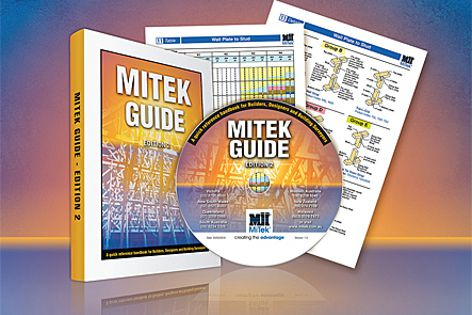 The new edition of the MiTek Guide complies with the BCA 2010.