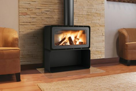 The ADF range of contemporary wood fireplaces is now available from Castworks.