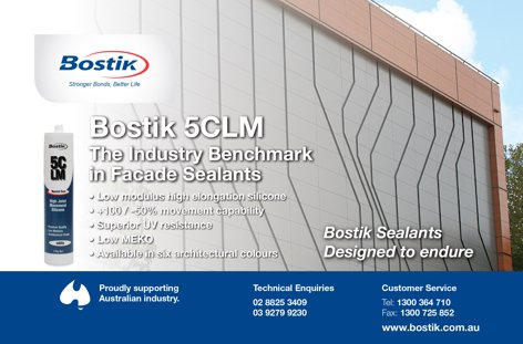 Facade sealants from Bostik