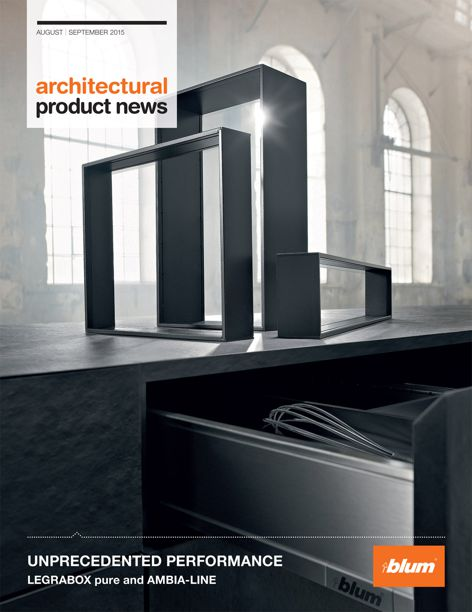 LEGRABOX pure and AMBIA-LINE from Blum