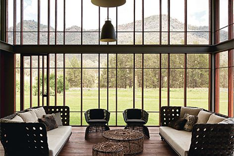 House in Country NSW by Virginia Kerridge Architect. Photography: Marcel Aucar.