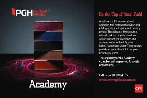 Academy collection by CSR PGH Bricks