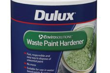 Dulux Envirosolutions waste paint hardener