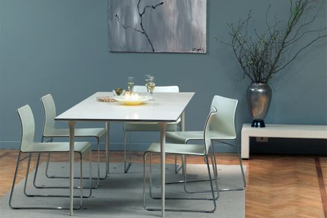 Matteograssis stackable Tweety chair can be made to order in any colour.
