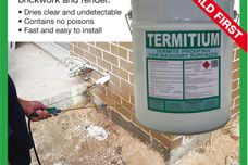 Termitium termite proofing for masonry surfaces
