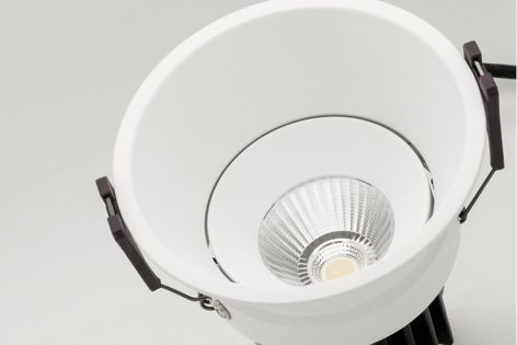 Mondoluce's Sola Series includes five models of downlights designed for a wide range of interior applications.