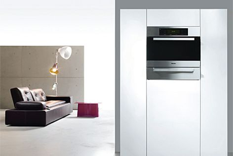 Miele's Combi-Steam oven includes an oxygen sensor to electronically regulate the quantity of steam.