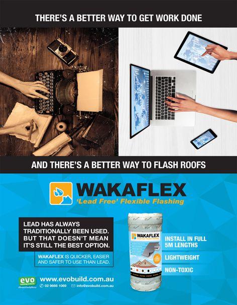 Lead-free flashing by Wakaflex