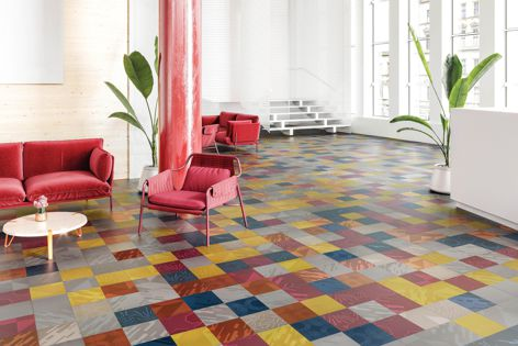 The Infused collection is offered in a range of colours across five inspired patterns that can be used individually or in any combination.
