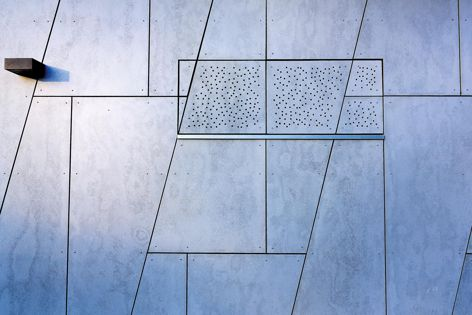 Cemintel's Barestone panels can be used either externally or internally.