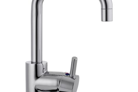 The water-efficient Raymor University Eton side handle mixer has a four-star WELS rating.