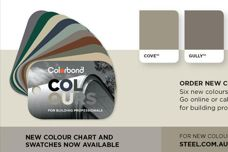 New Colorbond colours from BlueScope