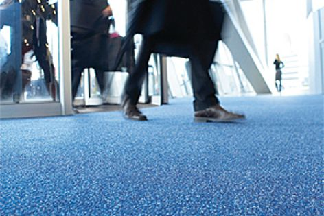 Forbo Coral flooring stops 90% of walked-in dirt.