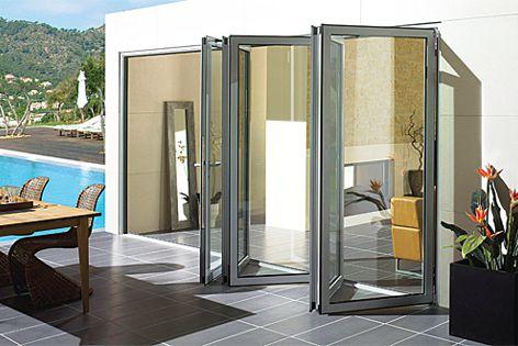 Solarlux SL60eco folding door system