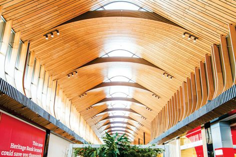 Curved interiors are gentle on the eye and soothe the senses. With Supawood's curved ceiling solutions and technical guidance, designers can bring their vision to life.
